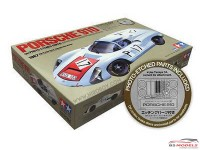 TAM12041 Porsche 910  with Photo etch Plastic Kit
