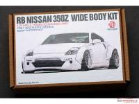 HD030460 RB Nissan 350Z Wide Body kit FOR 350Z models (resin + PE) Multimedia Transkit
