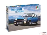 ITA3651S Renault 5 Alpine Plastic Kit