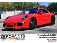 ZP1031-80K Porsche  Guards Red 80K  60ml Paint Material