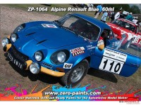 ZP1064 Renault Alpine Blue paint 60ml Paint Material