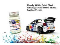 ZP1320 Candy White for Volkswagen Polo R WRC Paint Material