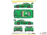 SK24064 Mercedes-Benz AMG GT FIA WC Macau 16 Waterslide decal Decal