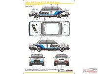 SK24065 Volvo 240 Turbo ETCC 1986 RAS Sport Waterslide decal Decal
