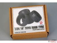 HD030528 18' Toyo R888  RESIN Tires Multimedia Accessoires