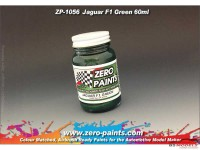 ZP1056 Jaguar Racing F1 green paint 60 ml Paint Material