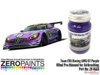 ZP1533 Team EVA  Racing AMG GT  Purple paint  60ml Paint Material