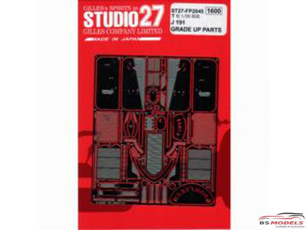 STU27FP2045 Jordan J191 upgrade parts Etched metal Accessoires