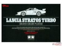 "TAM25418 Lancia Stratos Turbo  ""chroom aspect"" Plastic Kit"
