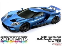 ZP1542 Ford GT Liquid Blue paint 60ml Paint Material