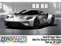 ZP1547 Ford GT Ingot Silver paint 60ml Paint Material