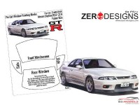 ZDWM0046 Nissan Skyline R33 GT-R Window painting masks (FUJ) Multimedia Accessoires