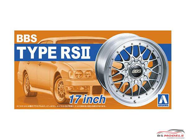"""AOS05241 BBS RS II  17 """""""" wheelset Plastic Kit"""