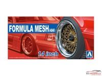 "AOS053256 Formula Mesh (4H)  14"" wheelset Plastic Kit"