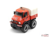 FW115 Mercedes Benz Unimog Multimedia Kit