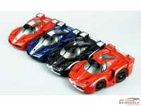 FW137-RW Ferrari FXX  (red/white line) Multimedia Kit