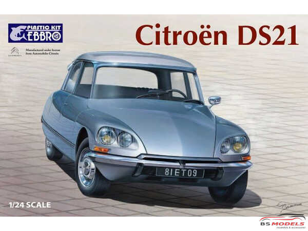 EBR25009 Citroën DS21 Plastic Kit