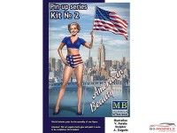 MB24002 Pin-up series #2 Betty Plastic Kit