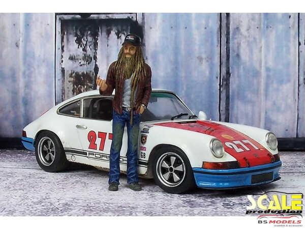 "SPD24MW Decals Porsche 911  ""Magnus Walker"" Waterslide decal Decal"