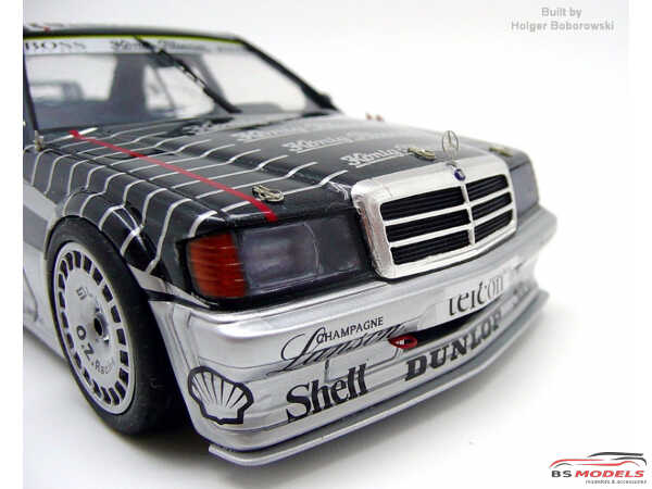 GT and Touring cars Etched metal Accessoires