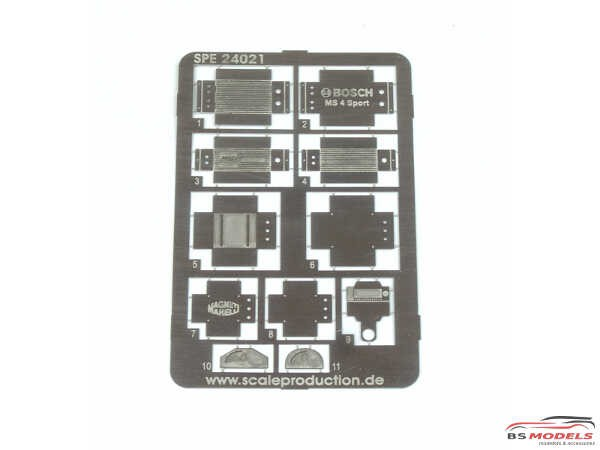 SPE24021 Electronic boxes / LCD displays Etched metal Accessoires