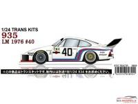 STU27TK2473R Porsche 935 #40  LM 1976  Transkit  for TAM Multimedia Transkit