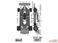 TABU20133 Ferrari 312T3  1978 - 1979  decal Waterslide decal Accessoires