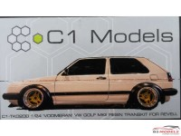 C1TK020B Voomeran / Euro Magic  Golf 2 (no wheels or decals) Transkit Resin Transkit