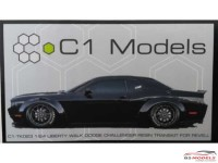 C1TK023 Liberty Walk Widebody Challenger Transkit Resin Transkit