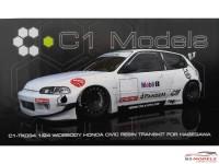C1TK034 Pandem Honda Civic EG6  Transkit Resin Transkit