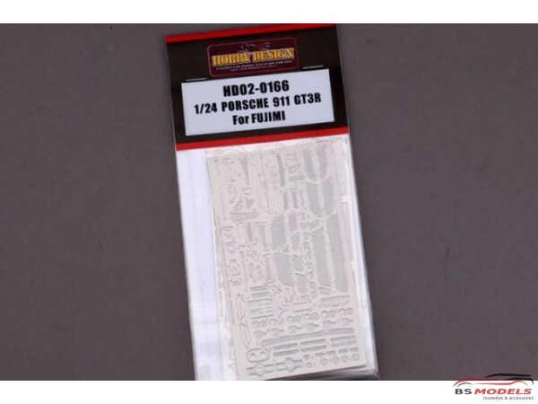 HD020166 Porsche 911 GT3R   detail set (For Fujimi) Multimedia Accessoires