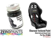 ZP1583 Charcoal Textured Paint  30ml Paint Material