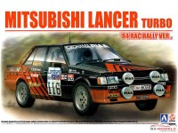 BEE24022 Mitsubishi Lancer Turbo '84 RAC Rally Plastic Kit