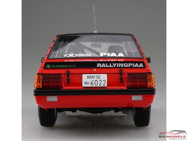 BEE24022 Mitsubishi Lancer Turbo '84 RAC Rally Plastic Kit