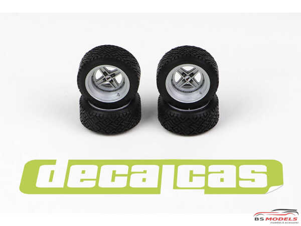 DCLPAR006 Targa resin rims for Fiat 131 Resin Accessoires