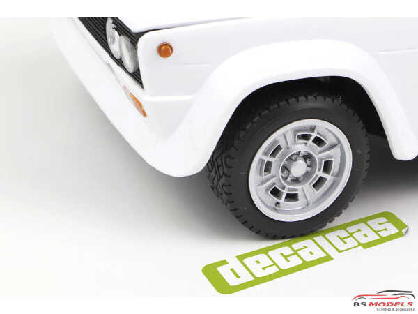 DCLPAR007 Abarth Cromodora  CD68 resin rims for Fiat 131 Resin Accessoires