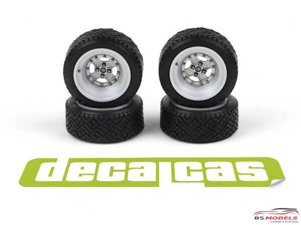 DCLPAR008 Abarth Cromodora  resin rims for Fiat 131 Resin Accessoires