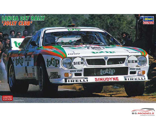 HAS20399 Lancia 037 Rally Jolly Club  Tour de Corse 1984 Plastic Kit