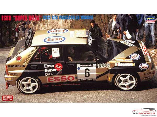 HAS20402 Lancia Super Delta Esso '93 Piancavallo winner Plastic Kit