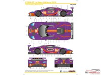 SK24093 Ford GTLM  Le Mans 24H  '19  Keating Motorsports Wynn's Waterslide decal Decal