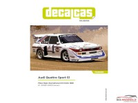 DCLDEC020 Audi Quattro Sport S1  Pikes Peak 1986  #1  Bobby unser Waterslide decal Decal