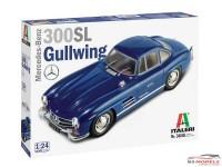 ITA3645S Mercedes Benz 300 SL Gullwing Plastic Kit