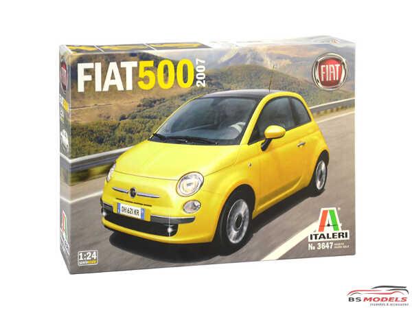 ITA3647S Fiat 500 (2007) Plastic Kit
