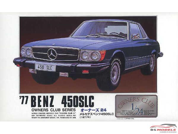 ARII20503 Mercedes Benz 450  SLC  1977 Plastic Kit