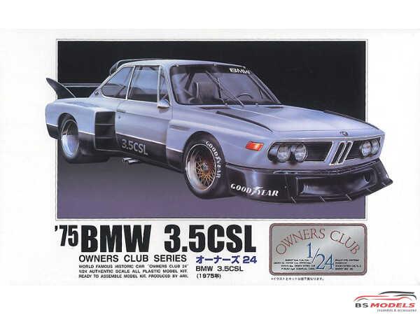 ARII20508 BMW 3.5 CSL  1975 Plastic Kit