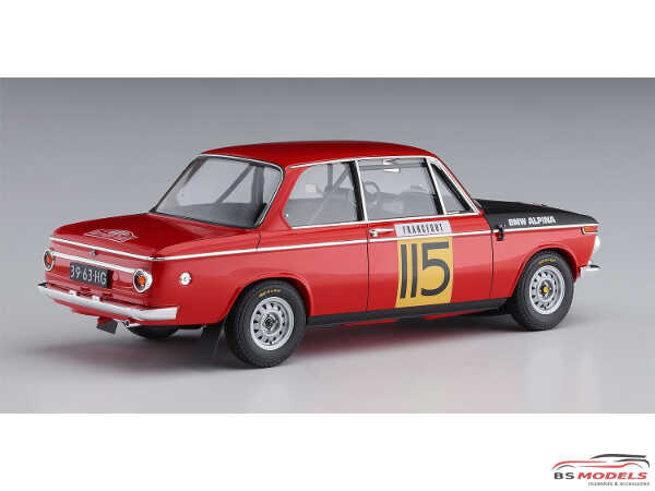 HAS20420 BMW 2002ti Rally Monte Carlo 1969  2/5 class winner Plastic Kit