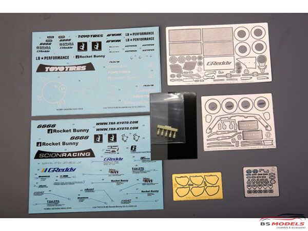 HD030545 RB Toyota FT86 V2.0 Wide Body kit for TAM 24323 - 24336 Multimedia Transkit