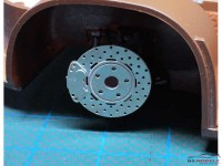 HME040 Disk Brakes 12 mm Etched metal Accessoires