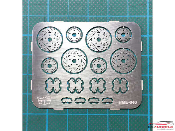 HME040 Disk Brakes 12 mm Etched metal Accessoires