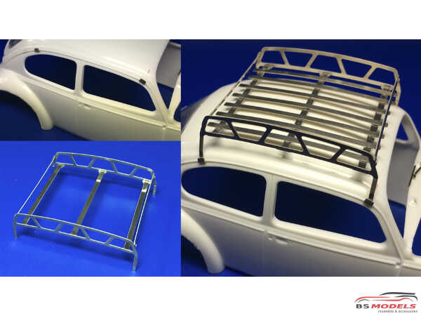 HME043 Roof Rack Etched metal Accessoires